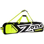 Zone Toolbag Eyecatcher black/white/lime (10 sticks) - Florbalový vak