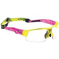 Zone-Eye Matrix kids pink/neon yellow - Florbalové okuliare