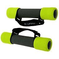 LifeFit Činky Plus 2× 1,5 kg - Súprava činiek