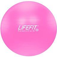 LifeFit anti-burst ružová - Gymnastická lopta