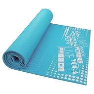 LifeFit Slimfit Plus gymnastická svetlo tyrkysová - Podložka