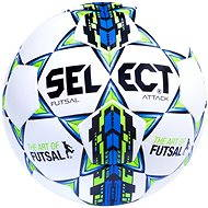 Select Futsal Attack, bielo modrá vel. 4 - Futsalová lopta