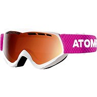 Atomic Savor JR White/Orange veľ. NS - Okuliare
