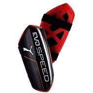 Puma evoSpeed ??5.5 Puma Black-Red Bl veľ. M - Futbalové chrániče