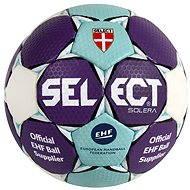 Select Solera – sky blue/white/purple veľkosť 0 - Hádzanárska lopta