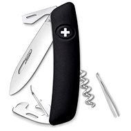 Swiza švajčiarsky vreckový nôž D03 black - Nôž