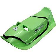 Acra plastové sane Alfa, zelené - Sánky