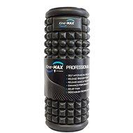 Kine-MAX Professional Massage Foam Roller – Masážny valec – Čierny - Masážny valček