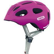 Abus Youn-I sparkling pink veľ. M - Prilba na bicykel