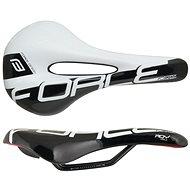 Force sedlo Roy Hole+ Športové, bielo-čierne - sedlo