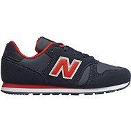 New Balance YC373CA červená/modrá - Vychádzková obuv