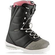 Nitro Flora TLS Black – Pink veľ. 39 1/3 EU/255 mm - Topánky na snowboard