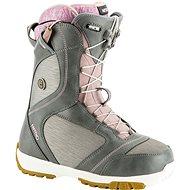 Nitro Monarch TLS Grey - Topánky na snowboard