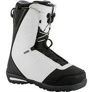 Nitro Vagabond TLS Black - White - Topánky na snowboard