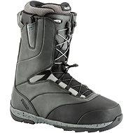 Nitro Venture TLS Black – Charcoal veľ. 42 2/3 EU/280 mm - Topánky na snowboard