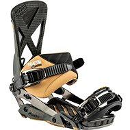 Nitro Phantom Carver Gunmetal - Viazanie na snowboard