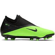 Nike Phantom Vision 2 Academy MG čierna/zelená - Kopačky
