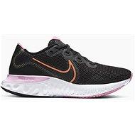 Nike Renew Run čierna/ružová - Bežecké topánky