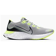 Nike Renew Run sivá/zelená - Bežecké topánky