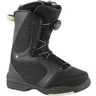Topánky na snowboard Nitro Flora BOA Black-Mint veľ. 37 1/3 EU/240 mm