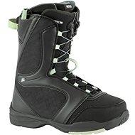 Topánky na snowboard Nitro Flora TLS Black-Mint veľ. 39 1/3 EU/255 mm