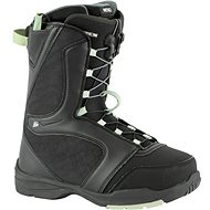 Topánky na snowboard Nitro Flora TLS Black-Mint veľ. 40 2/3 EU/265 mm