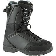 Topánky na snowboard Nitro Vagabond TLS Black veľ. 47 1/3 EU/315 mm