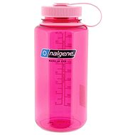 Nalgene Wide Mouth Pink/flower 500 ml - Fľaša na vodu