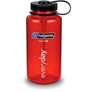Nalgene Wide Mouth Red 1000 ml - Fľaša na vodu