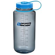 Nalgene Wide Mouth Gray 1000 ml - Fľaša na vodu