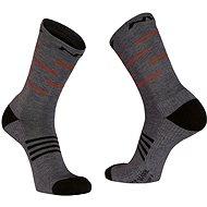 Northwave Extreme Pro High Sock šedá/černá/oranžová vel. 36 - 39