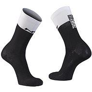 Northwave Work Less Ride More Sock černá/bílá vel. 36 - 39