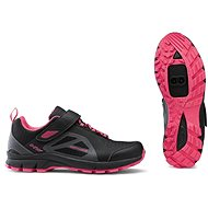 Northwave Escape Woman Evo, Black/Pink, size EU 39/277mm - Spikes