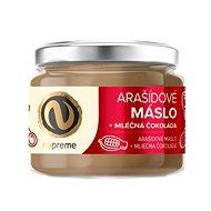 Nupreme Arašídové maslo s mliečnou čokoládou 220 g - Orechový krém