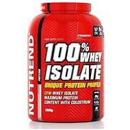 Nutrend 100 % Whey Isolate, 1800 g, jahoda - Proteín