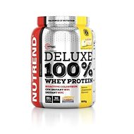 Nutrend DELUXE 100 % Whey, 900 g, citronový cheesecake - Proteín