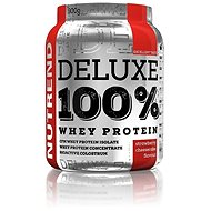 Nutrend DELUXE 100 % Whey, 900 g, jahodový cheesecake - Proteín