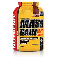 Nutrend Mass Gain, 2250g, Chocolate + Cocoa - Gainer