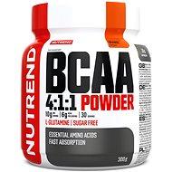Nutrend BCAA Mega Strong Powder, 300 g, pomaranč - Aminokyseliny
