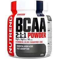 Nutrend BCAA Mega Strong Drink (2:1:1), 400 g, čierne ríbezle - Aminokyseliny