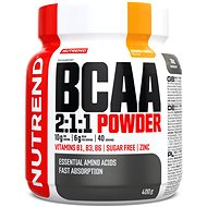 Nutrend BCAA Mega Strong Drink (2:1:1), 400 g, mango - Aminokyseliny