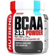 Nutrend BCAA Mega Strong Drink (2:1:1), 400 g, modrá malina - Aminokyseliny