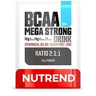 Nutrend BCAA Mega Strong Drink (2:1:1), 10 g, modrá malina - Aminokyseliny