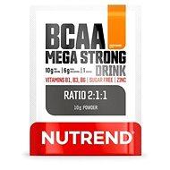 Nutrend BCAA Mega Strong Drink (2:1:1), 10 g, pomaranč - Aminokyseliny