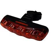 Olpran Zadné svetlo 5 červené LED D - Svetlo na bicykel