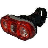 Olpran Zadné svetlo 2 LED červené - Svetlo na bicykel