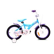 "OLPRAN Debbie 16"", ružová/biela - Detský bicykel"