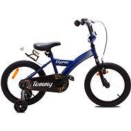 """OLPRAN Tommy 16"""", modrá/čierna - Detský bicykel"""
