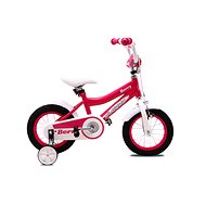 """OLPRAN Berry, fialová/biela, 12"""" - Detský bicykel 12"""""""