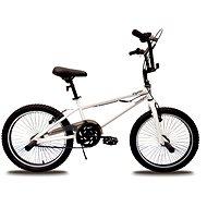 "Olpran BMX, biely, freestyle 20"" - Detský bicykel 20"""